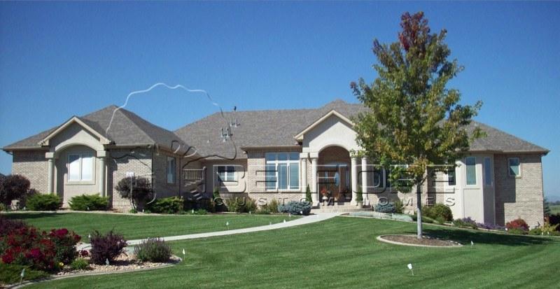 Belfiore portfolio custom home at eagle ranch estates for Ranch style homes in colorado