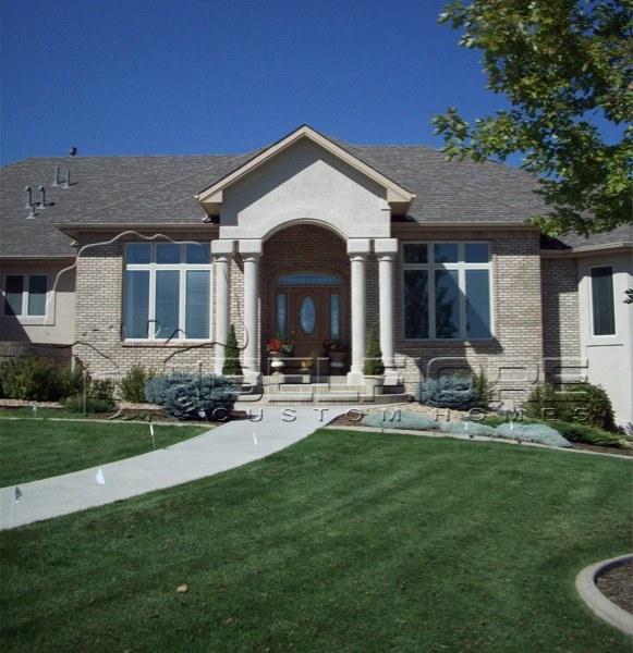 Belfiore portfolio custom home at eagle ranch estates for Custom ranch homes