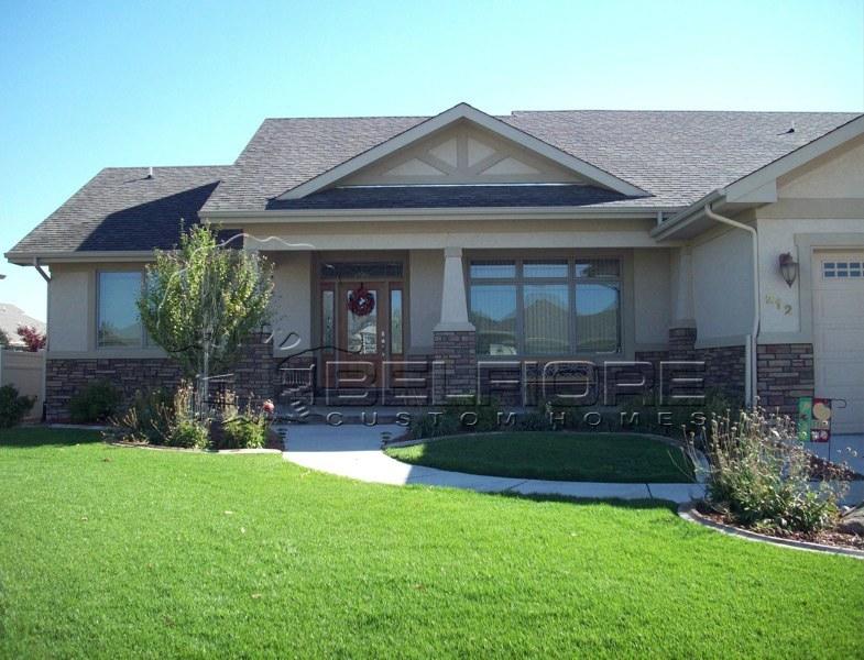 Belfiore portfolio semi custom home at kelly farm for Colorado custom home designs